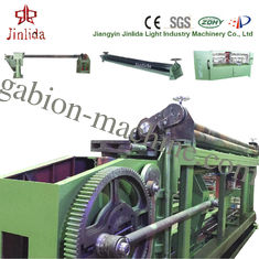 84 x 120mm Mesh Size Low Noise Automatic Gabion Basket Machine For Max Width 4300mm